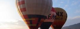 Loty balonami w Kotlinie Kłodzkiej