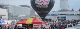 Balon CASTROL na Targach Poznańskich