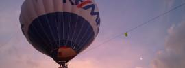 """Czy """"brzydka pogoda"""" przeszkadza w balonowych lotach?"""