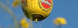 WARSTEINER – Żółta balonowa inwazja