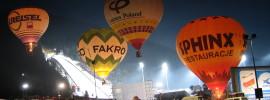 Balony zimą w Zakopanem