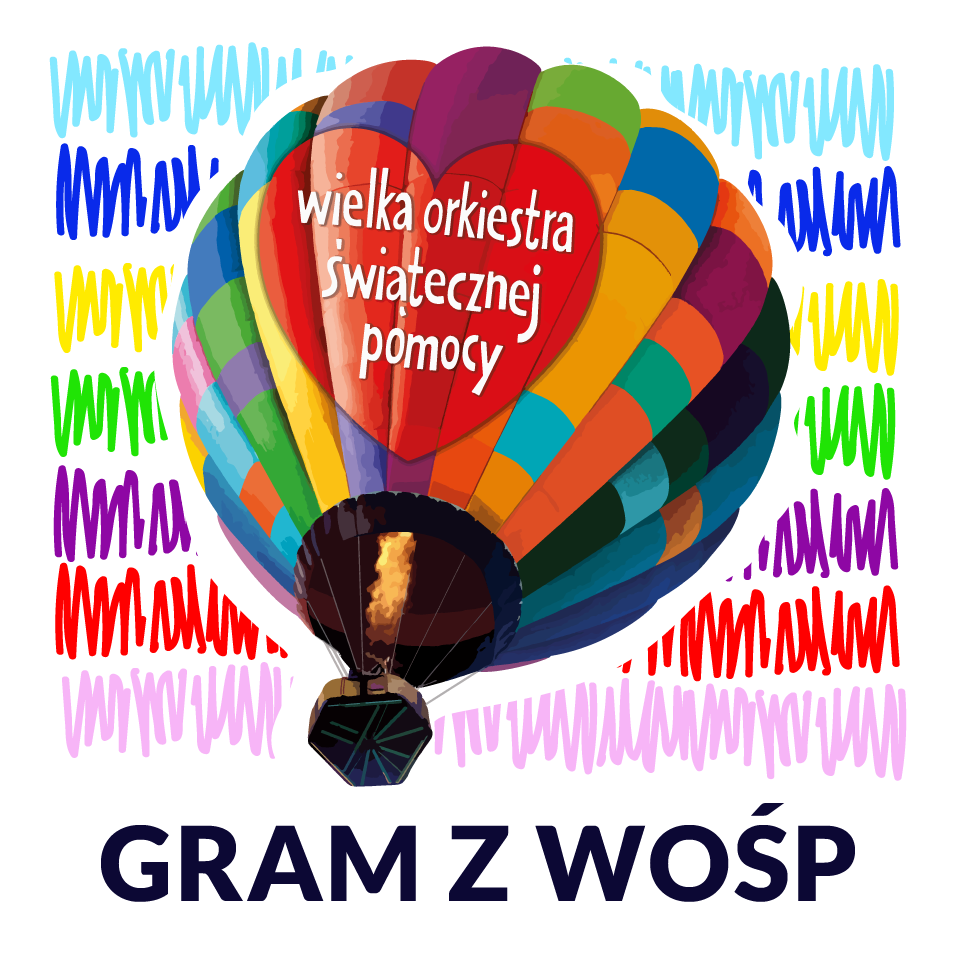 Balon WOŚP Lot balonem